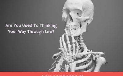 Are you used to thinking your way through life?