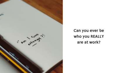 Can you ever be who you REALLY are at work?